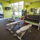 Personal Training and Fitness Floor